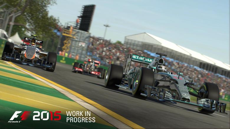 F1 2015 : De nouvelles images et une date de sortie