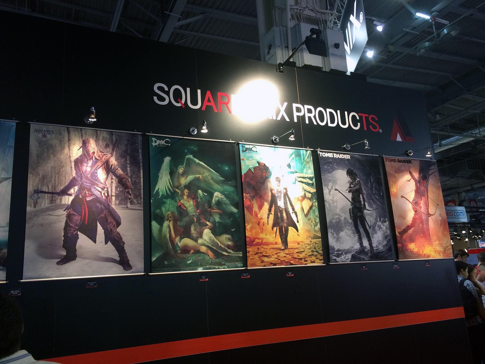 Paris Games Week 2015 : Square Enix annonce un line-up sans précédent
