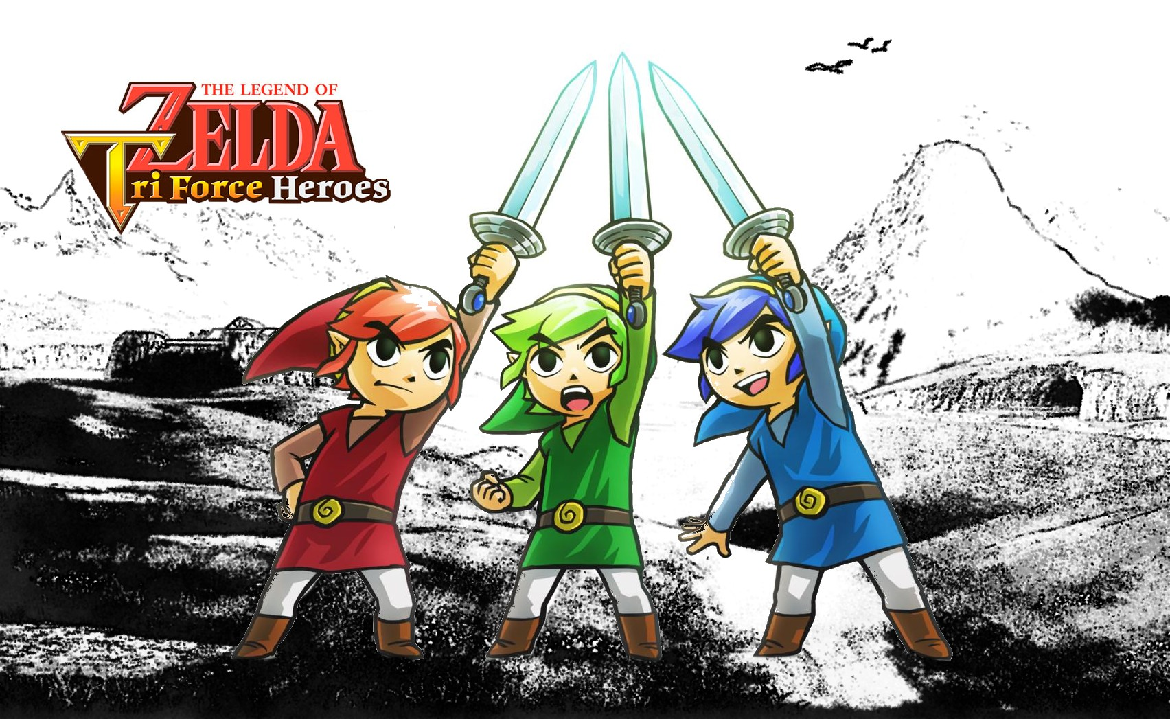 The Legend of Zelda : TriForce Heroes s'inscrit dans la saga !