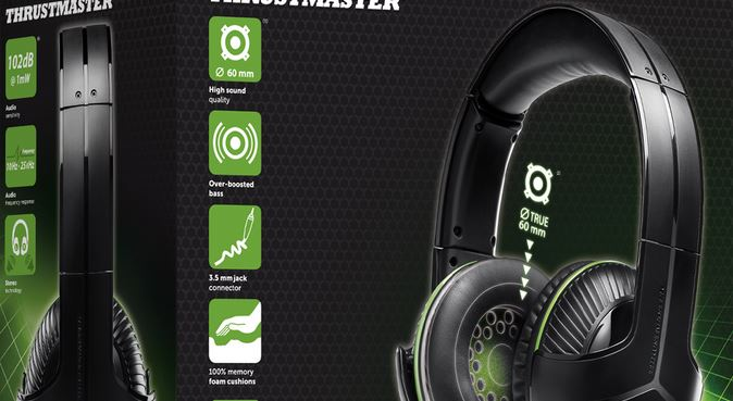 [MATOS] Le casque gaming Y-300X de Thrustmaster sous licence officielle Xbox One !