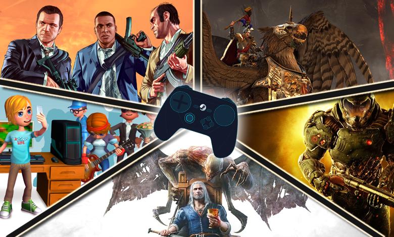 Top 10 Steam au 6 juin : le retour des rois