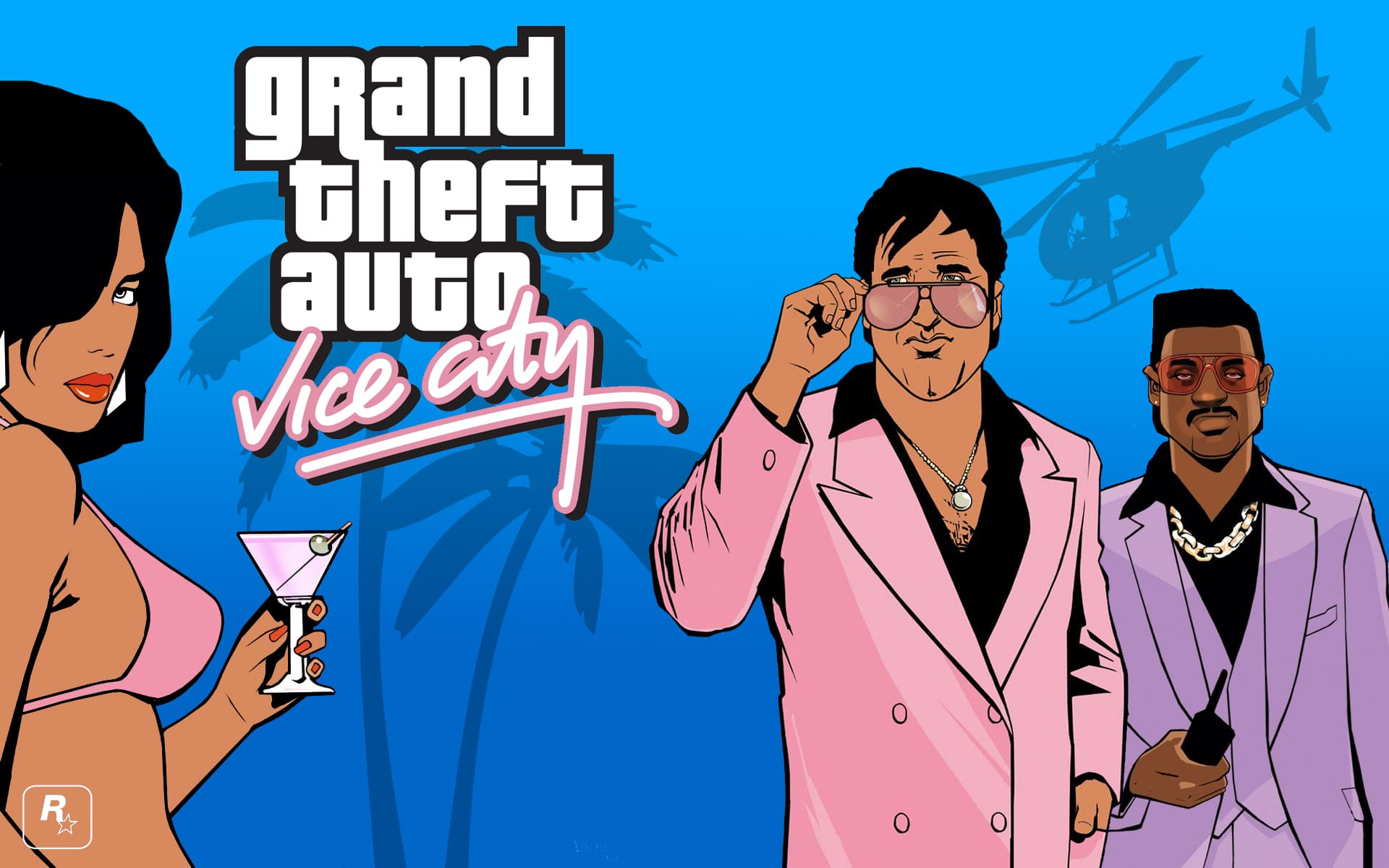 GTA Vice City : Comparaison graphique PS4 vs PS2