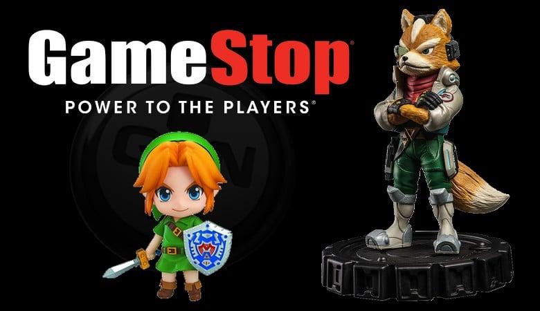 GameStop : Précommandez Majora's Mask Link ou Fox McCloud