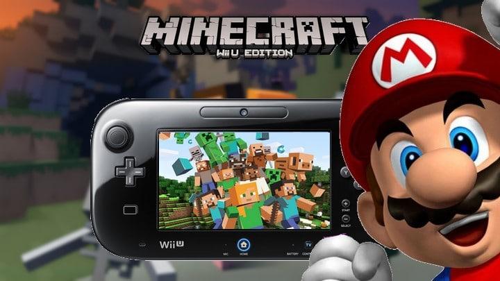 La version physique de Minecraft sur Wii U datée