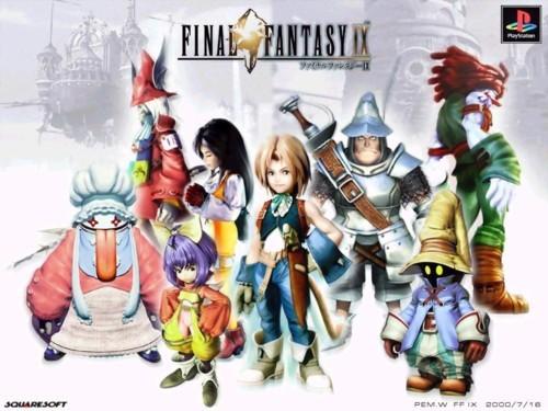 Final Fantasy IX est onéreusement disponible sur smartphone
