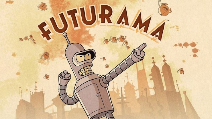 Futurama : Game of Drones disponible sur smartphone