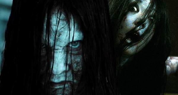 Sadako VS Kayako !! Round 1 ! FIGHT !!