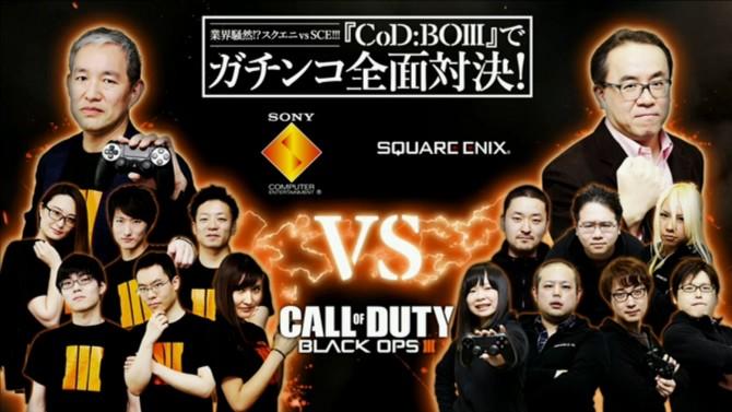 Call of Duty Black Ops 3 résultat du duel Square Enix VS Sony