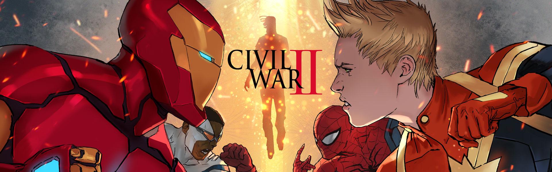 Civil War 2 : les premiers détails du comics à venir