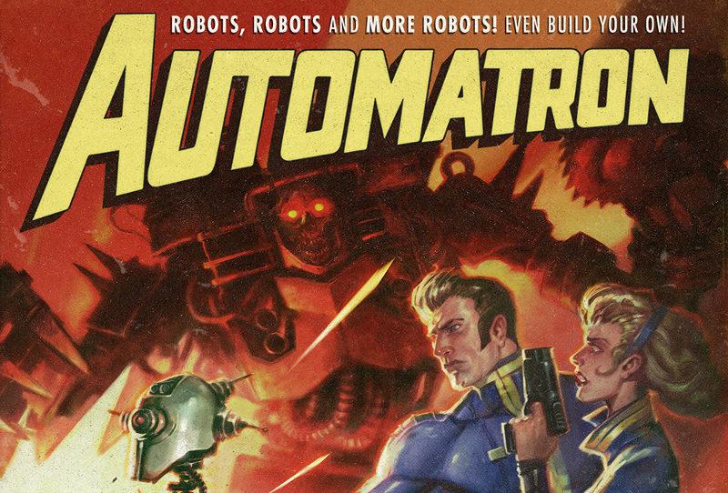 Fallout 4 Automatron : premières vidéos de gameplay