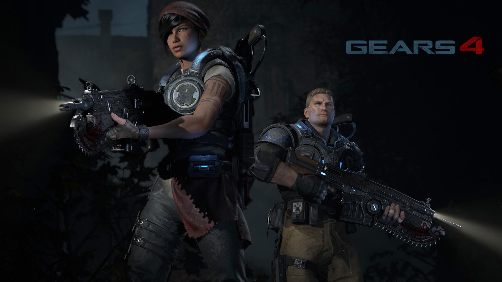 Gears of War 4 : vidéos de gameplay et récompenses
