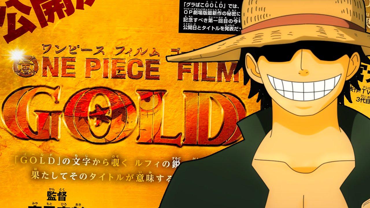 One Piece Film Gold : nouveau teaser vidéo