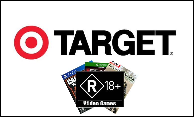 La chaîne de magasins Target censurerait les jaquettes des jeux 18+ en Australie