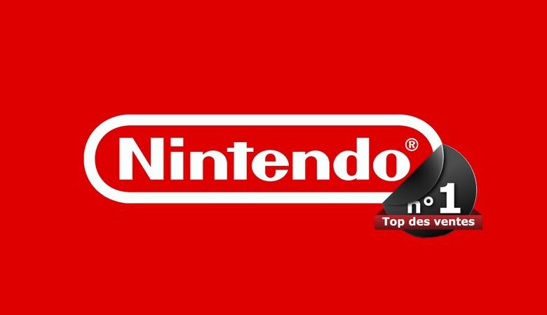 Le Top des ventes pour les consoles de Nintendo