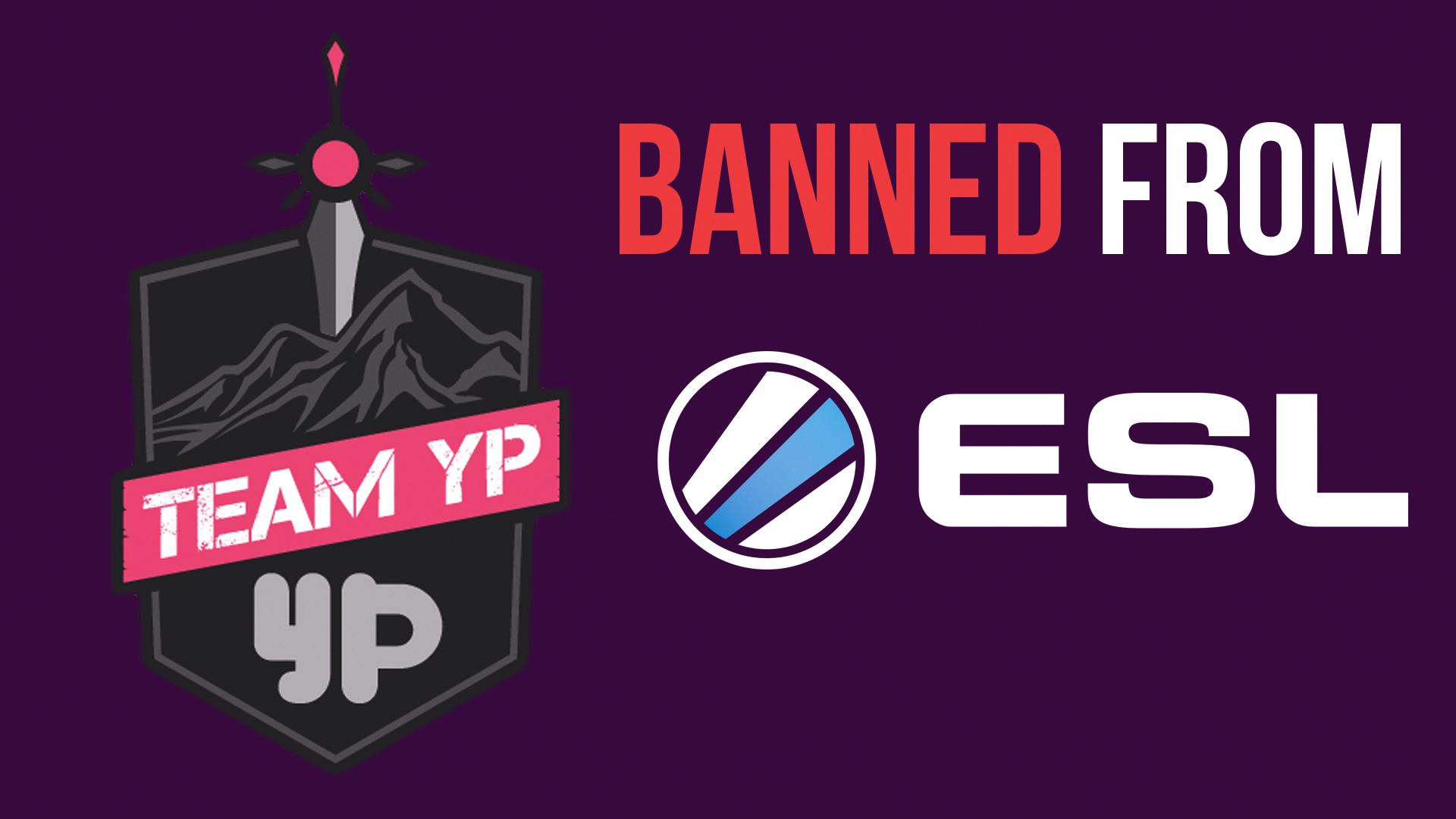 La Team YouPorn se fait bannir par l'ESL des compétitions officielles