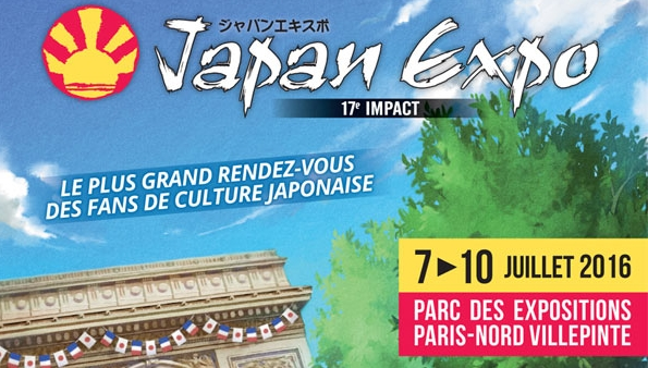 Japan Expo 2016 : de nouveaux invités, les jeux présents