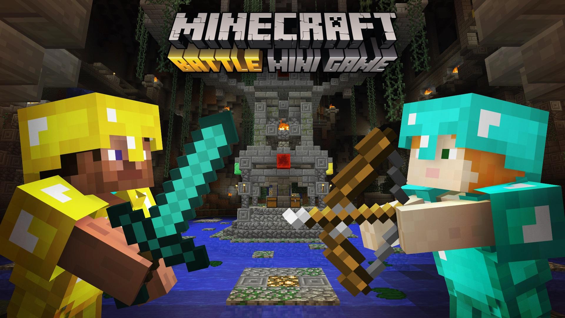 Minecraft  : un nouveau mini-jeu pour juin
