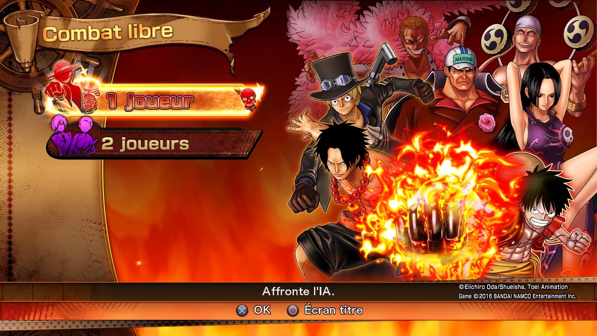 One Piece Burning Blood : démo disponible, voici ce qu'elle propose