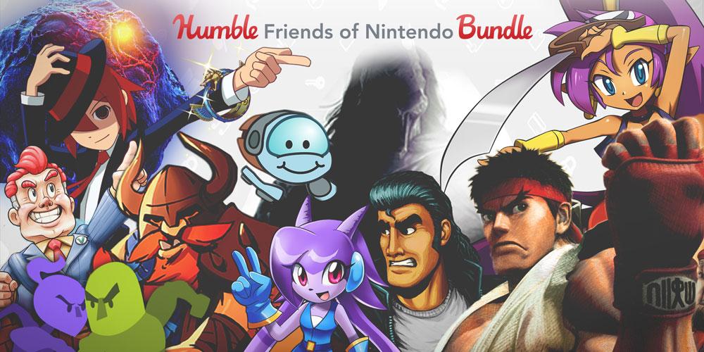 1 jour restant pour le Bundle Friends of Nintendo