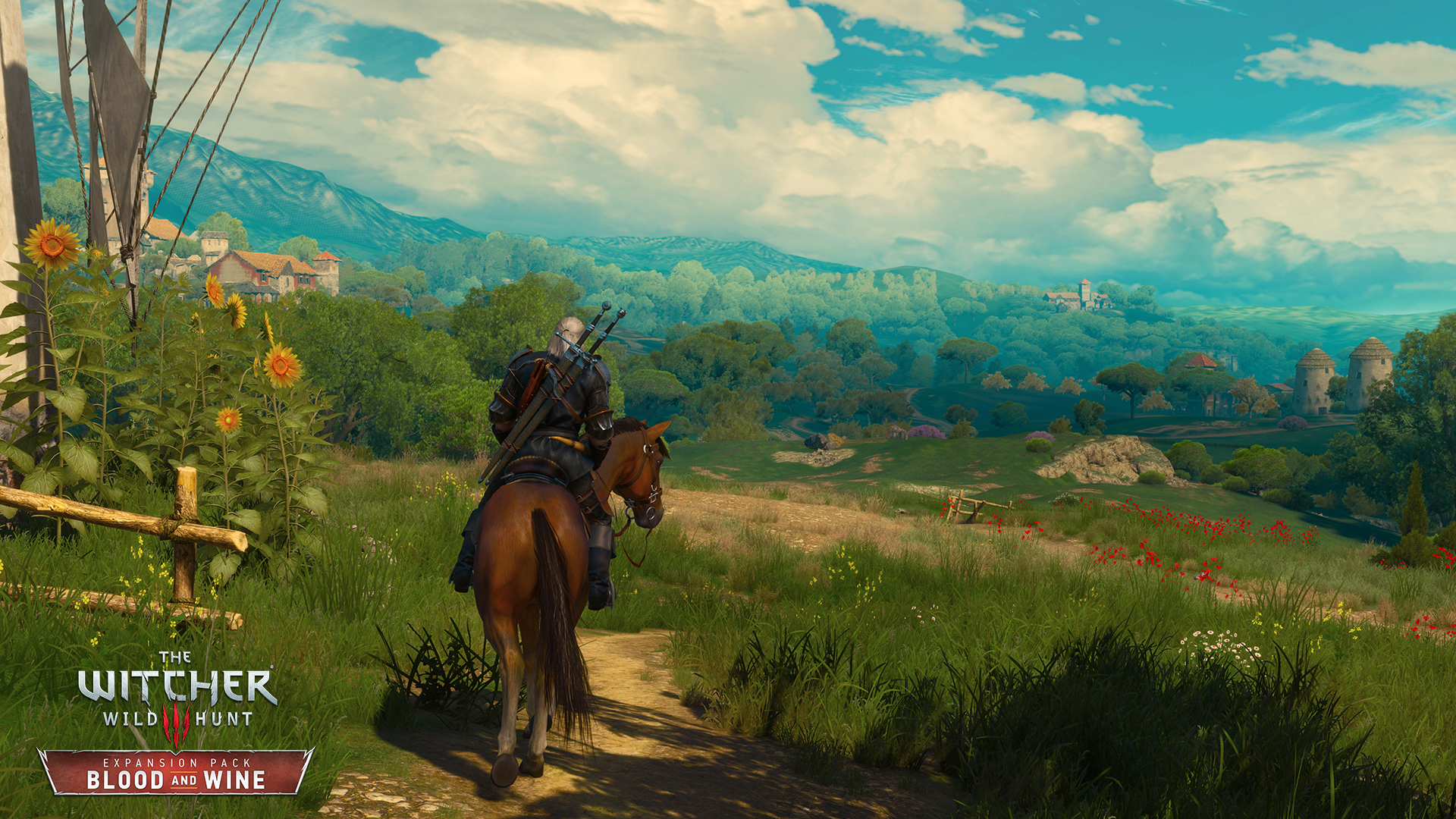 De nouvelles images pour The Witcher 3: Blood and Wine