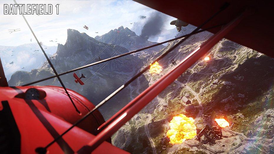 Battlefield 1 : une heure de multi (en avion et avec la Team Snoop Dogg)