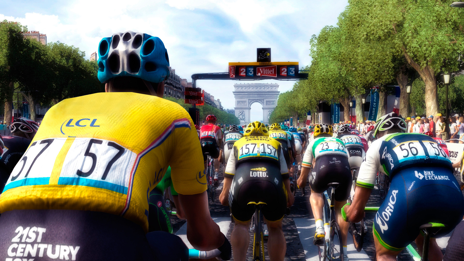 Le Tour de France 2016 se lance en images