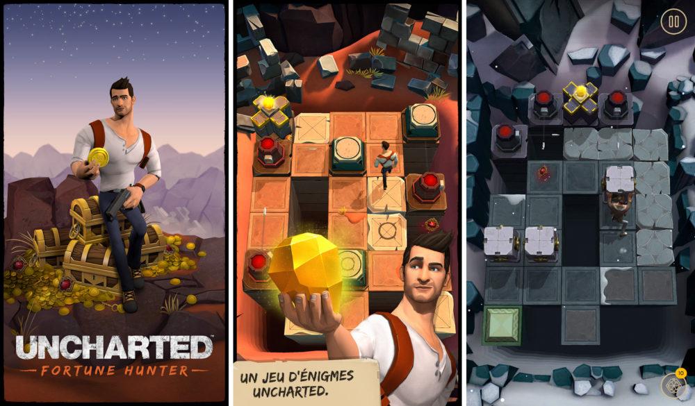 Le jeu mobile Uncharted Fortune Hunter disponible