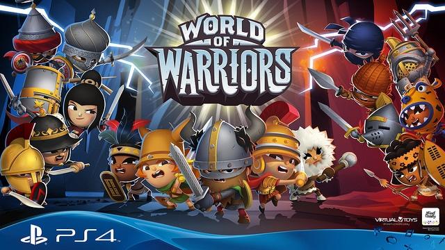 World of Warriors déclare la guerre sur PS4