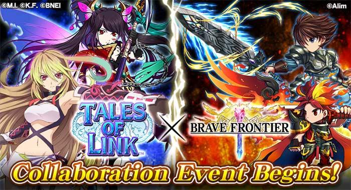 Tales of Link et Brave Frontier : Le crossover entre les deux jeux !