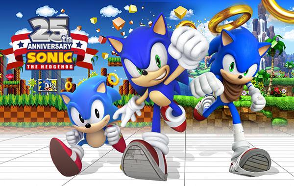 Sonic the Hedgehog célèbre ses 25 ans