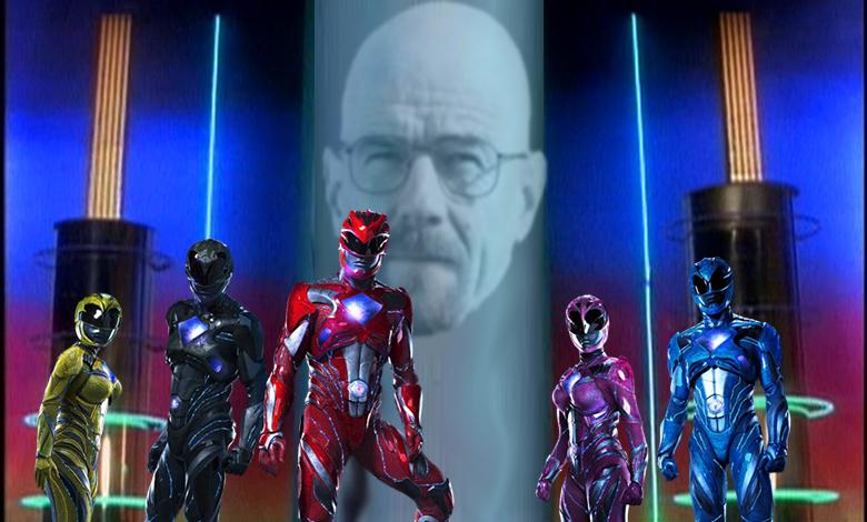 Les Power Rangers combattront aux côtés de Bryan Cranston