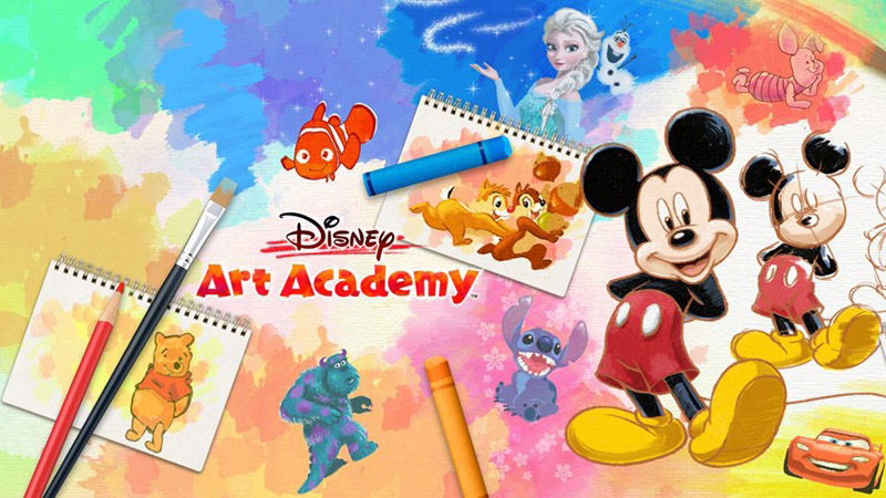 [TEST] : Disney Art Academy sur Nintendo 3DS