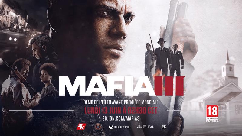Un « live action trailer » pour Mafia III