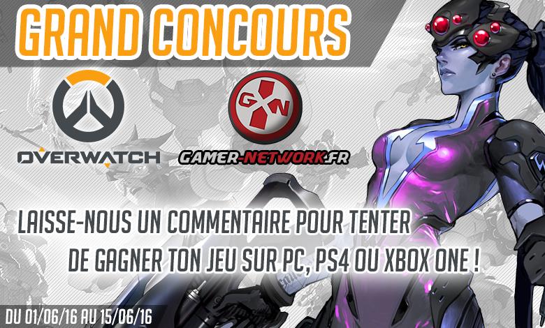 Grand concours Overwatch : venez tenter votre chance !