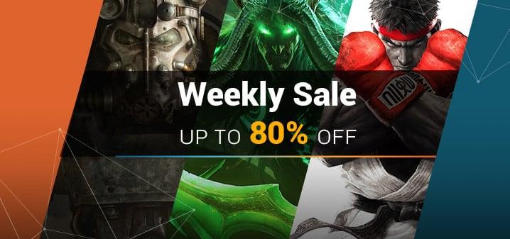 [BON PLAN] Les jeux du Week-End à petit prix !
