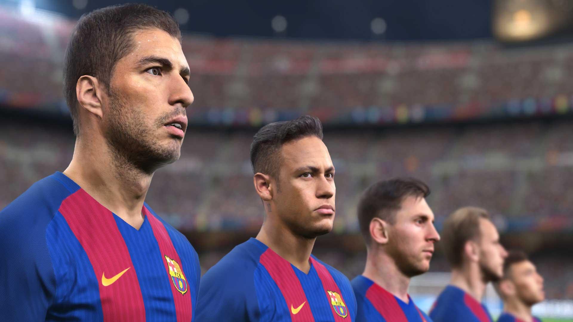 PES 2017 lance un signal puissant à FIFA 17