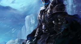 Blizzard et la statue monstrueuse d'Arthas Menethil
