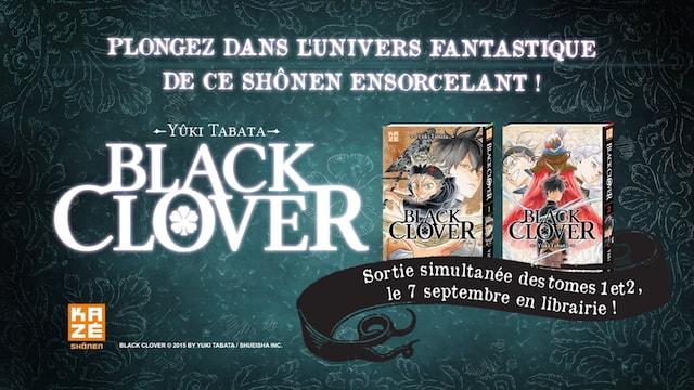 Black Clover, publié par Kazé, prépare sa rentrée avec une bande-annonce