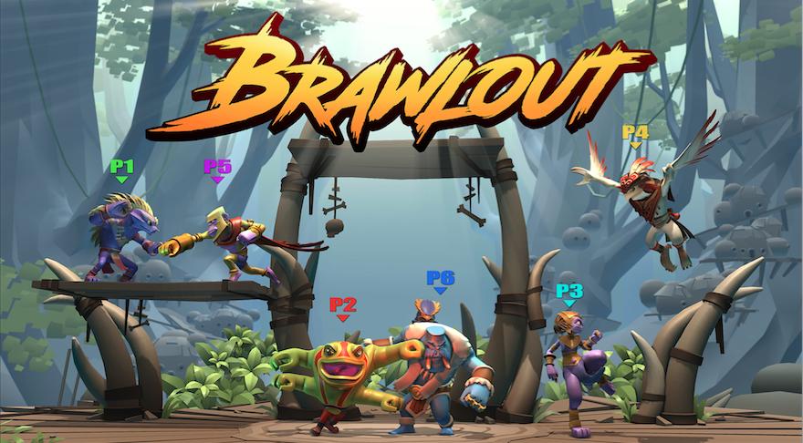 Découvrez Brawlout, un jeu inspiré de Super Smash Bros