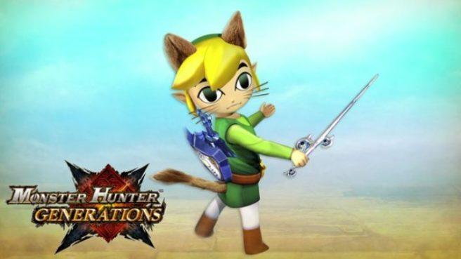 La collaboration entre Monster Hunter et Zelda confirmée