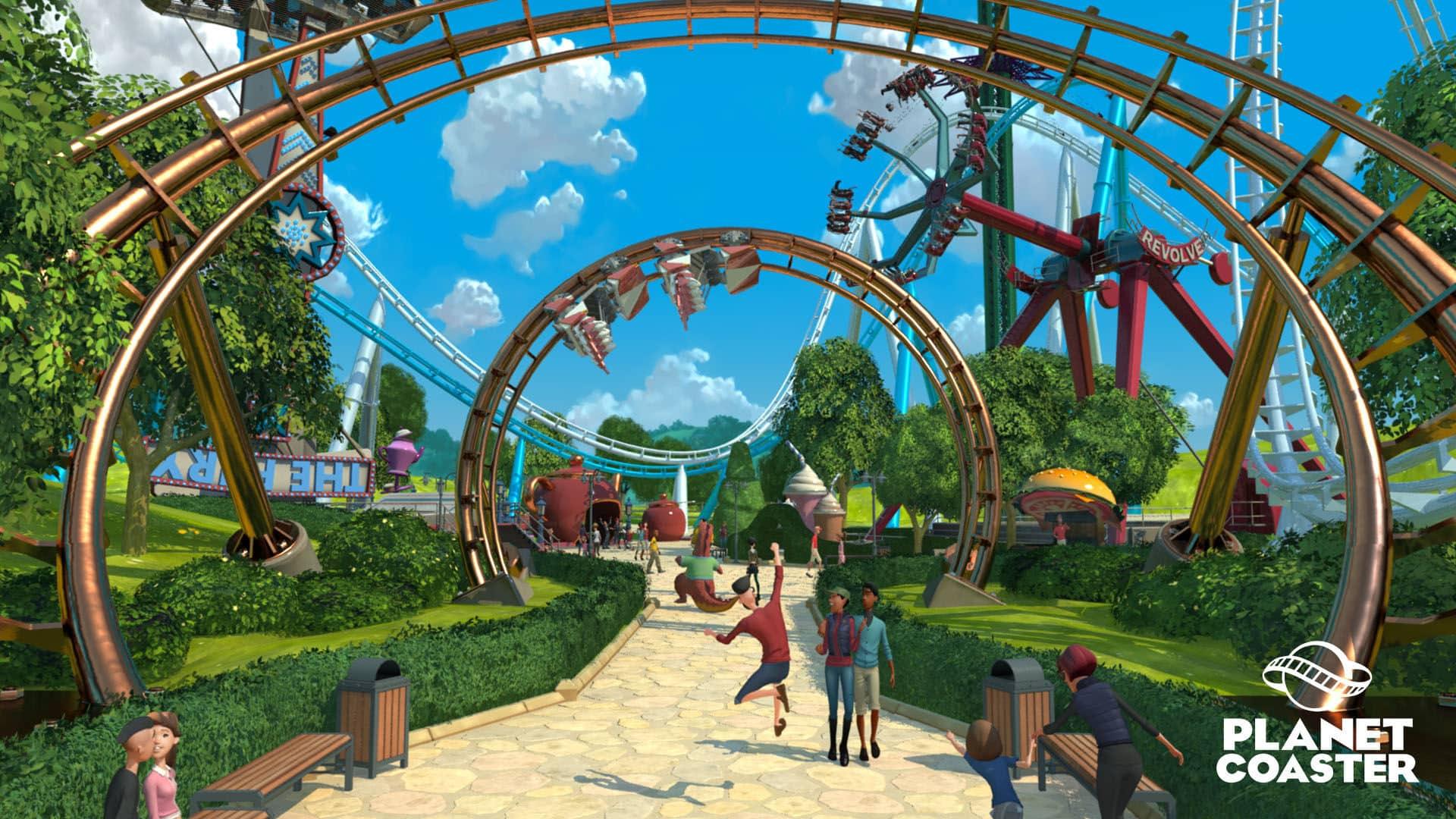 Planet Coaster disponible sur Steam en fin d'année