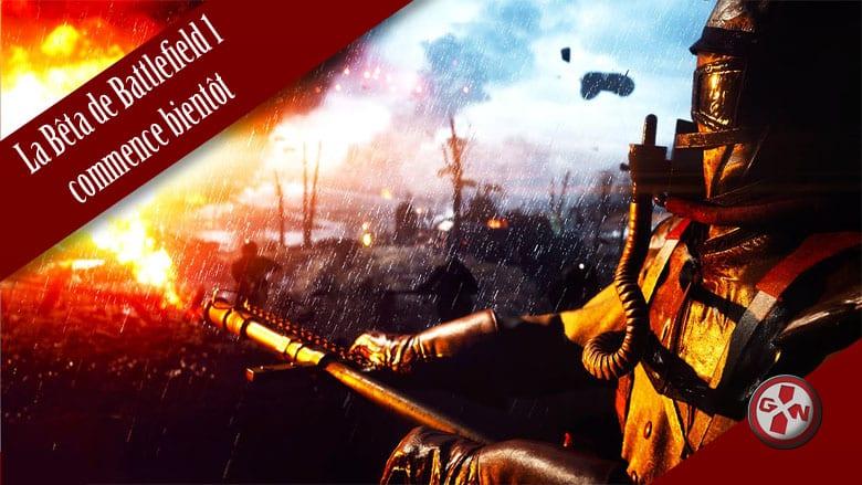 Battlefield 1 : Le PS+ n'est pas requis pour la bêta, toutes les infos