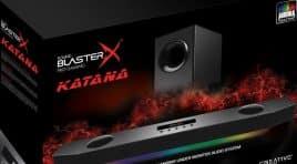 Creative dévoile sa nouvelle barre de son gaming Sound BlasterX Katana