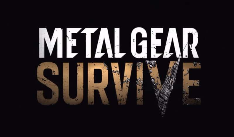 Metal Gear au pays des zombies, c'est Metal Gear Survive