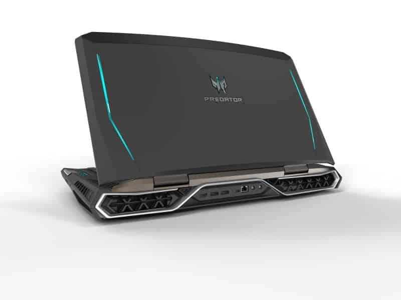 Acer annonce le premier PC portable pour gamer au monde équipé d'un écran incurvé
