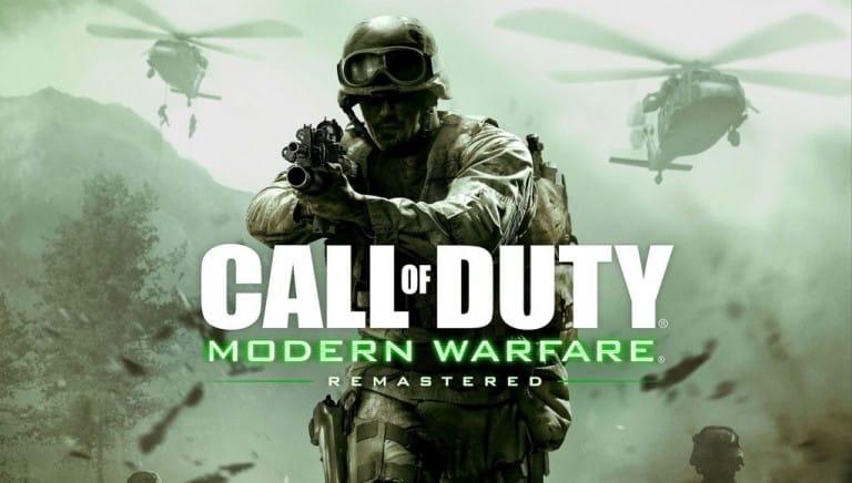Activision dément les rumeurs sur le Call of Duty Remaster en standalone