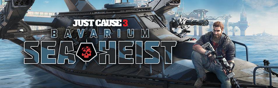 Just Cause 3: Bavarium Sea Heist disponible pour tous