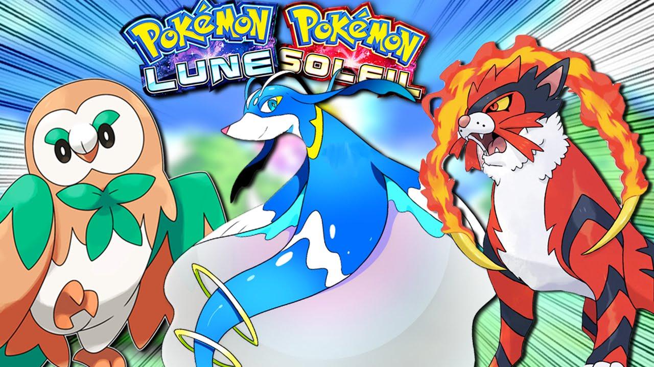 De nouveaux Pokémon sont révélés dans Pokémon Soleil et Pokémon Lune