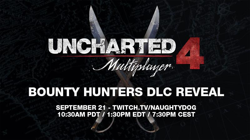 Uncharted 4 : le DLC Bounty Hunters en livestream… maintenant !