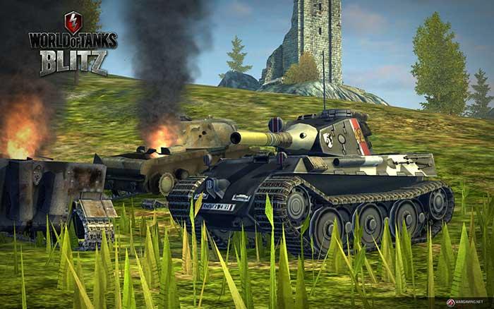 Les héros de Valkyria Chronicles dans World of Tanks Blitz